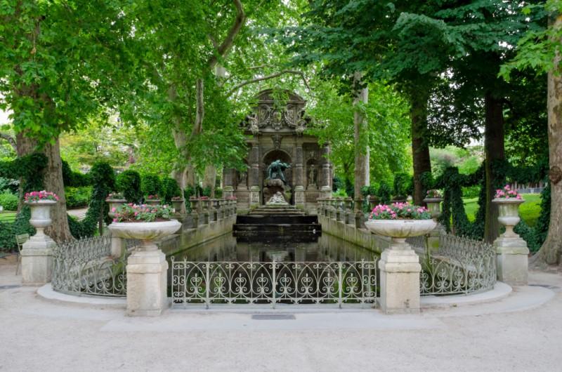 a Fontaine Médicis