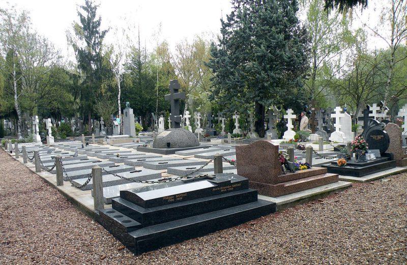 Кладбище Сент-Женевьев-де-Буа 2