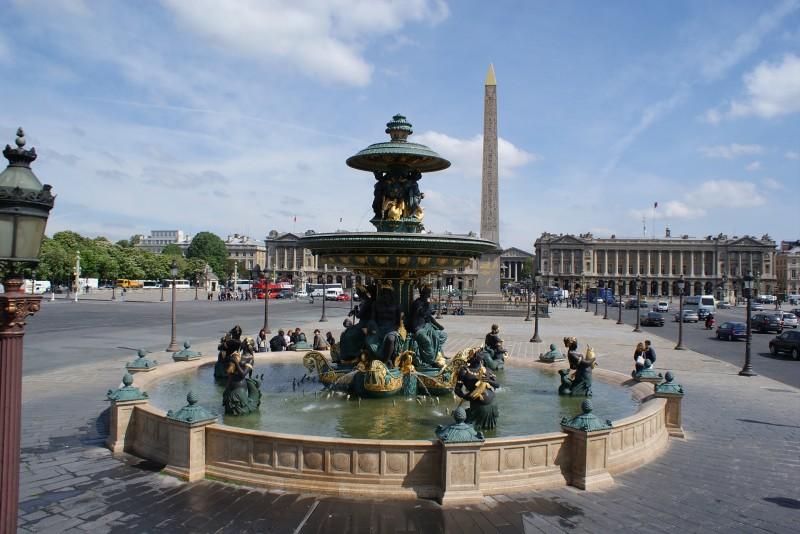 фонтаны площади согласия