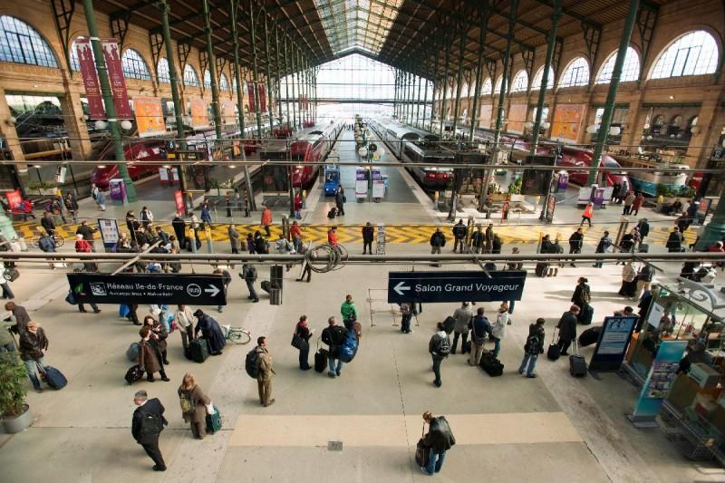 Gare-du-Nord платформы