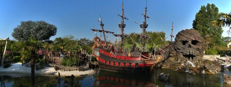 Пиратский галеон