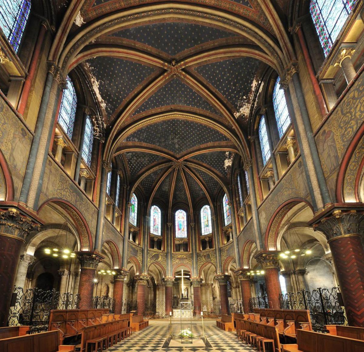 Церковь сен жермен де пре в париже