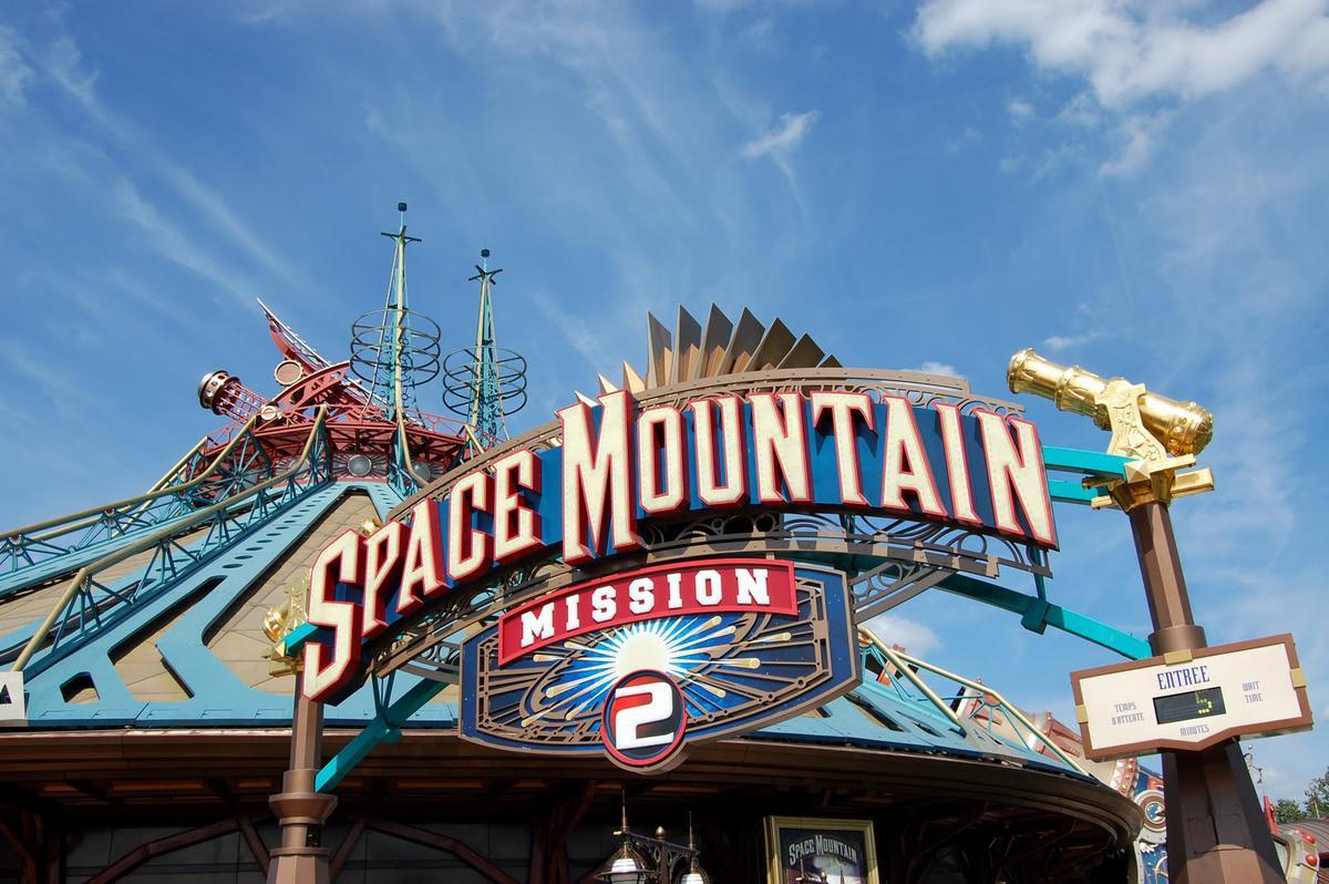 Горки «Космическая гора: Миссия 2».