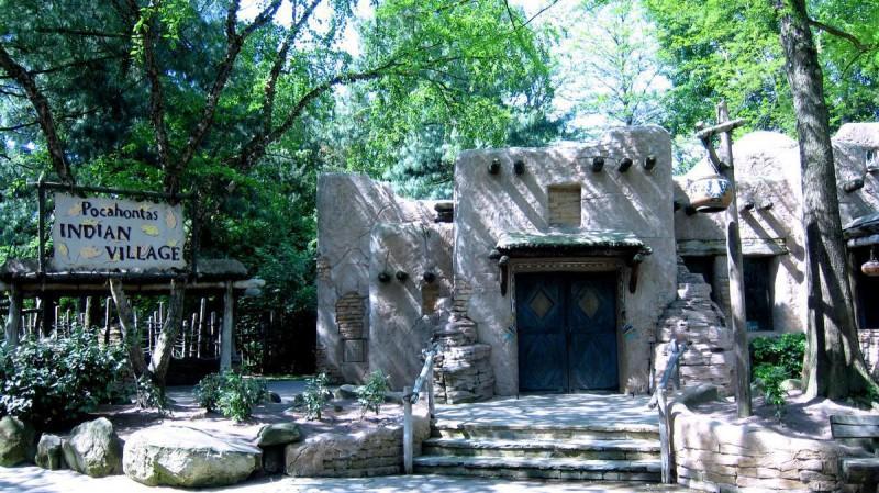 Деревня Покахонтас,