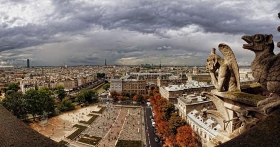Париже в мае