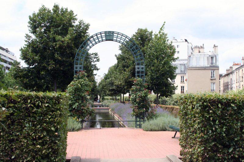 Зеленая аллея в Париже 6