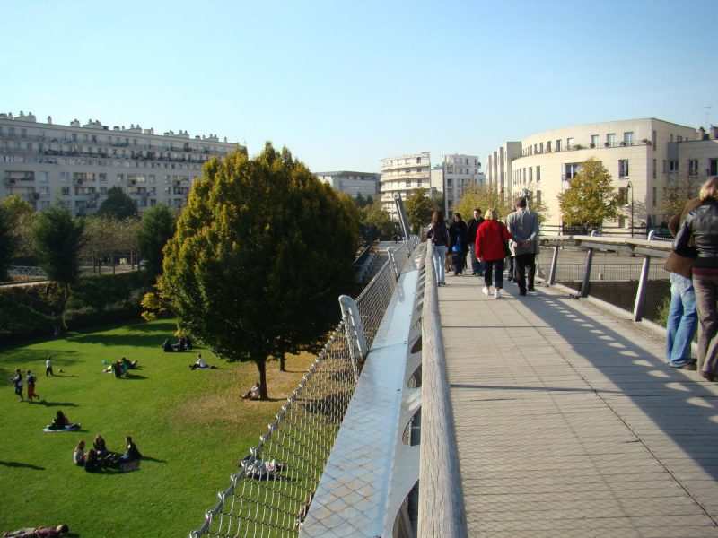 Зеленая аллея в Париже 7
