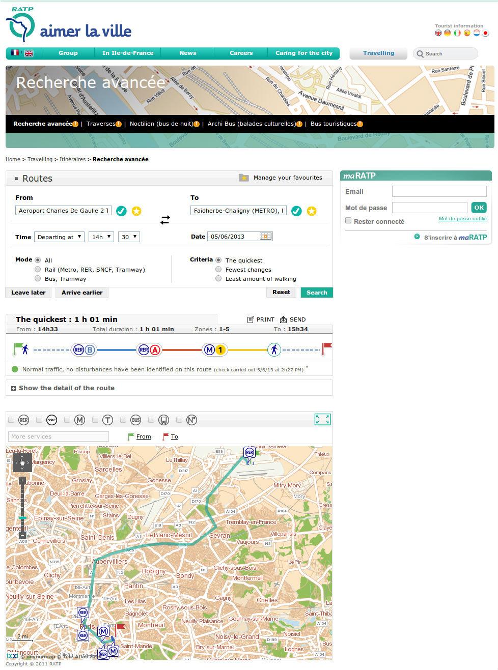 Схема метро парижа проложить маршрут