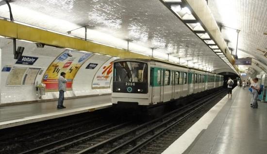 Метро в Парже - Voltaire