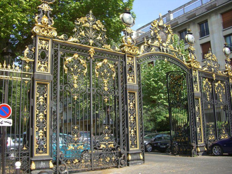 Парк Монсо в Париже5