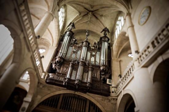 Церковь Сент-Этьен-дю-Мон - орган