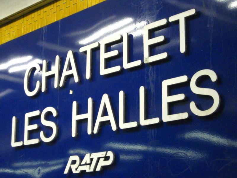 Станция метро Шатле - Ле-Аль