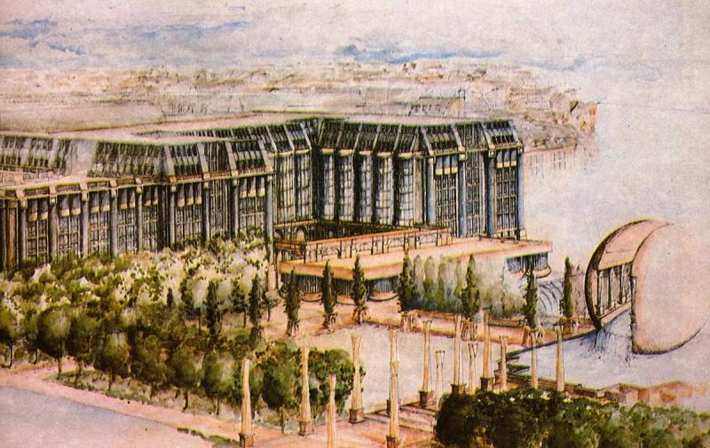 история квартала Ле-Аль в Париже