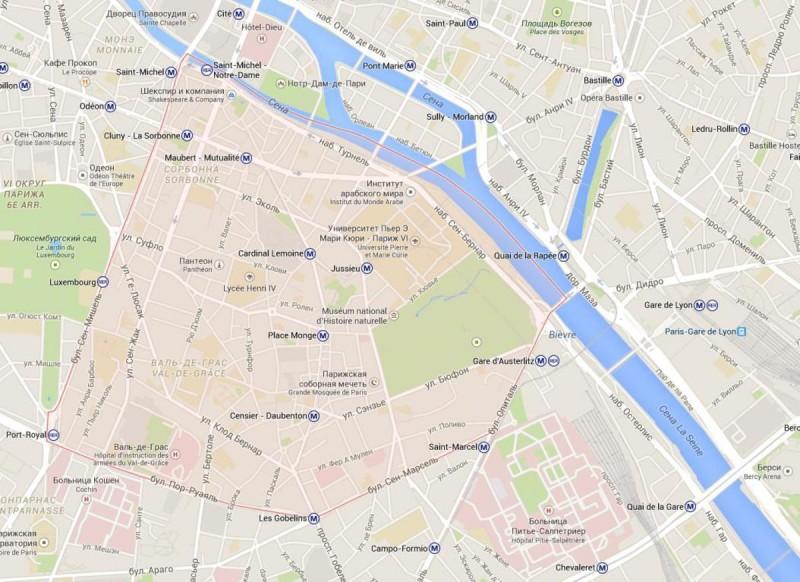 5 округ Парижа– Пантеон