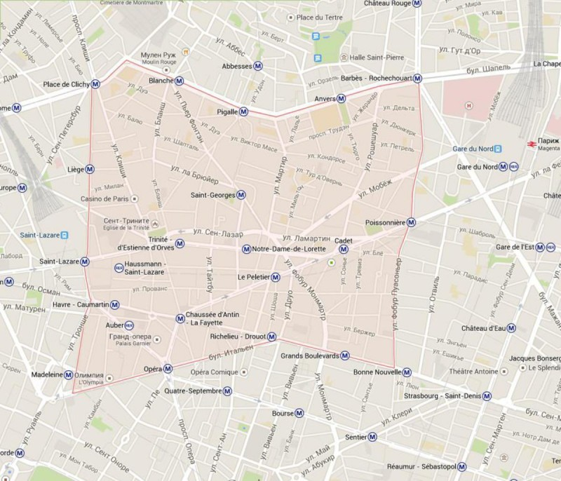 9 округ Парижа – Опера