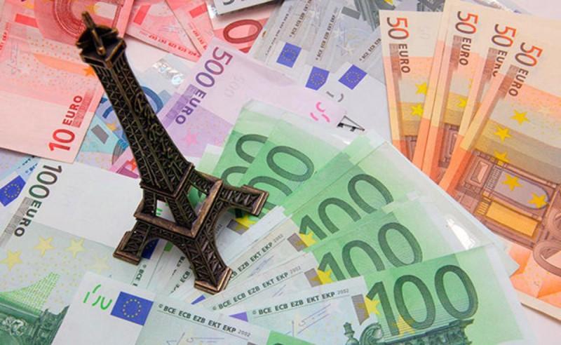 Курс валют в Париже