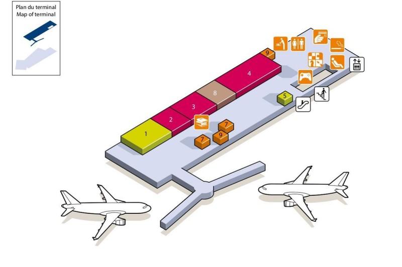 Терминал 2G(зал ожидания)