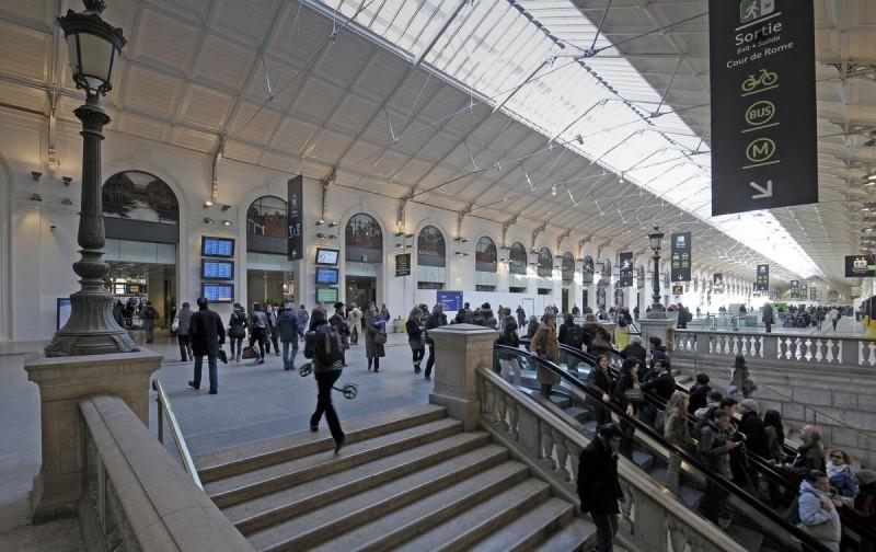 Вокзал Сен-Лазар2