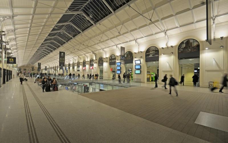 Вокзал Сен-Лазар5
