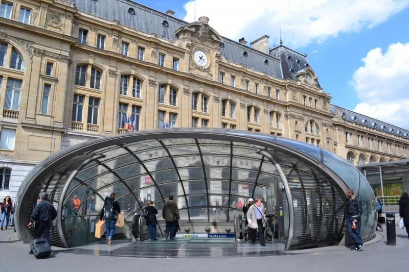 Вокзал Сен-Лазар6