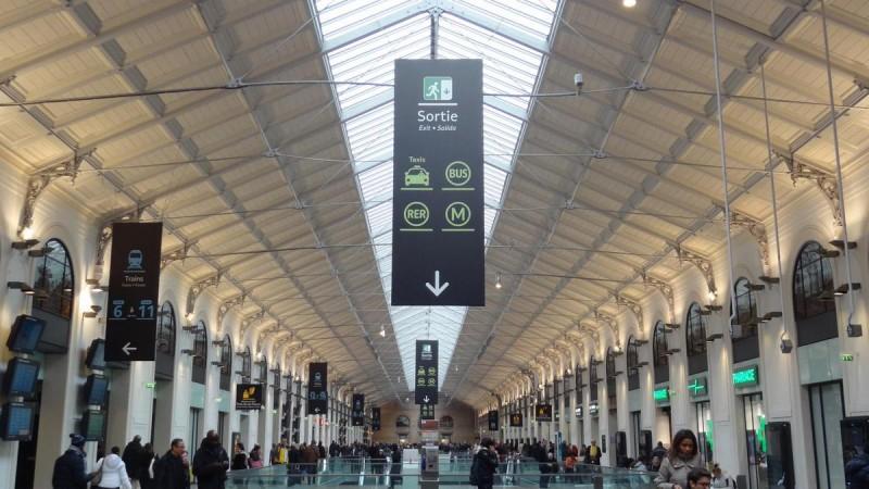Вокзал Сен-Лазар8