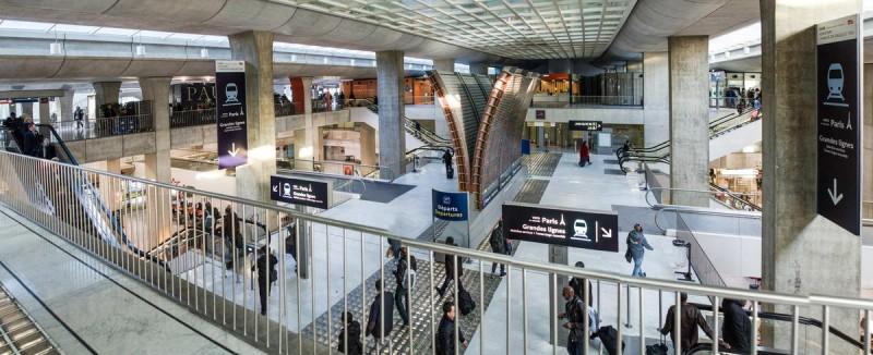 Железнодорожный вокзал Руаси-Шарль де Голль