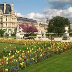 Погода в Париже  весной5