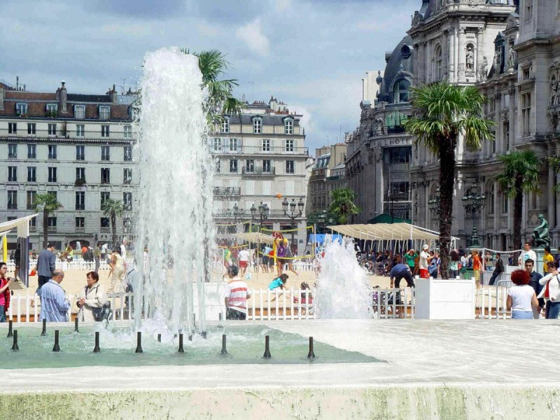 Погода в Париже летом7
