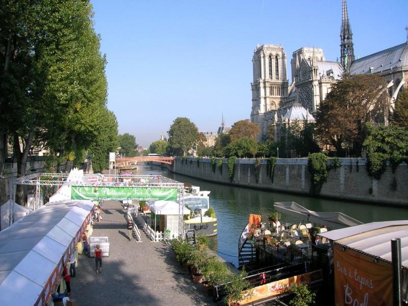Погода в Париже летом8