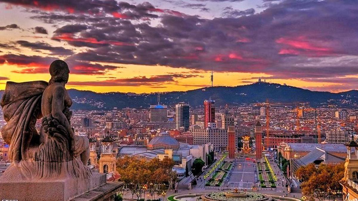 Барселона - Париж расстояние как добраться цена поездки