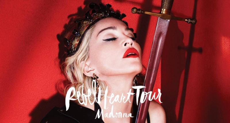 Концерт Мадонны в Париже2