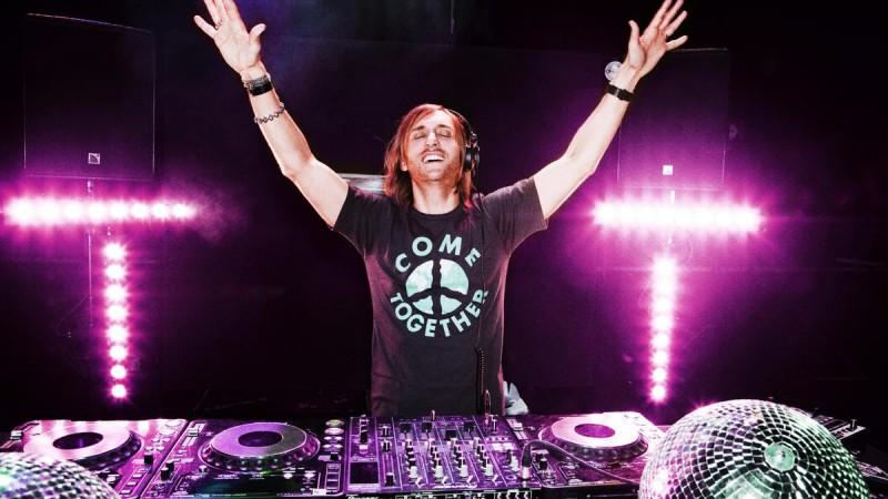 Концерт David Guetta в Париже2
