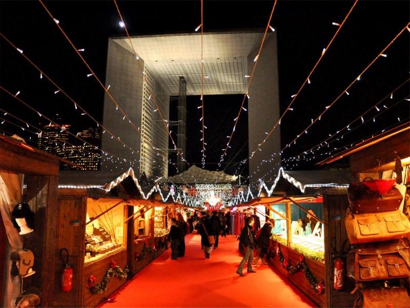 Рождественская рынок Дефанс