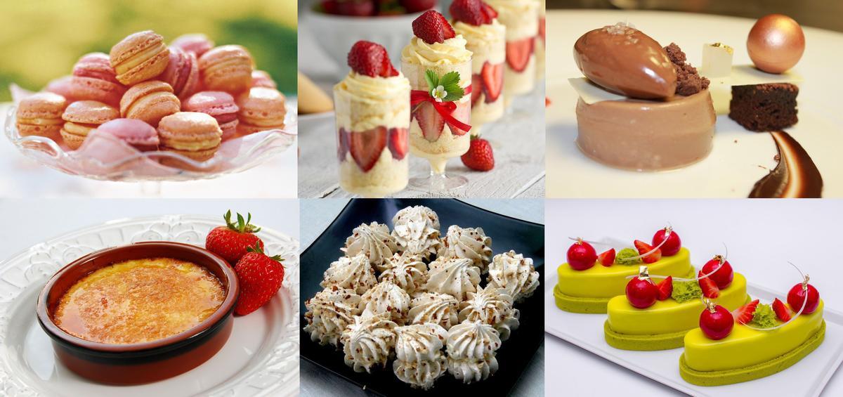 сложные десерты рецепты с фото
