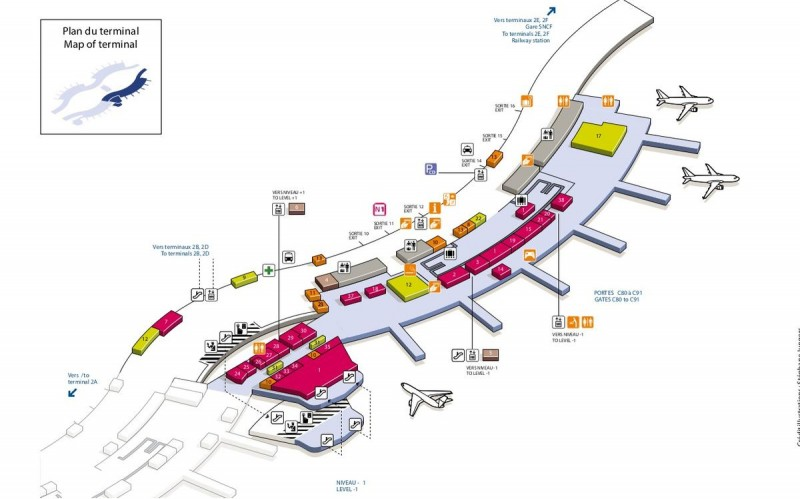 Терминал 2C