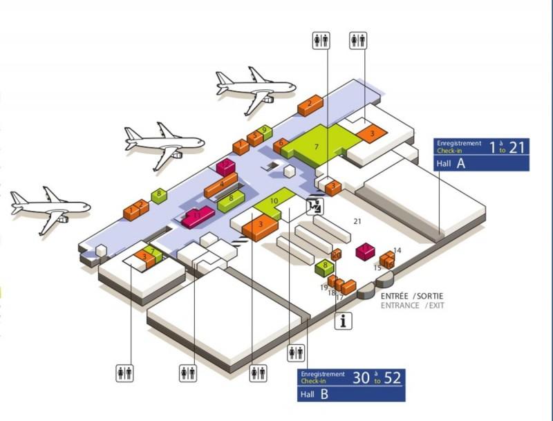 Терминал 3( зона вылета)