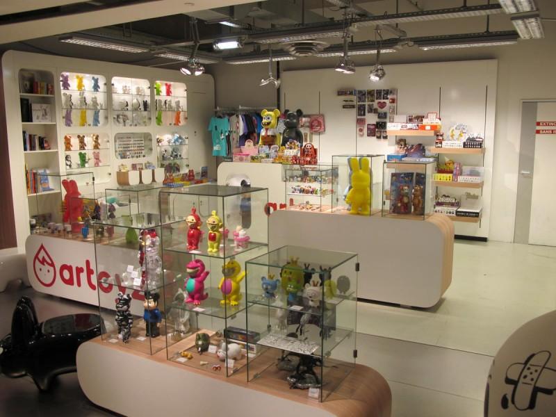 Artoyz Shop + Galerie