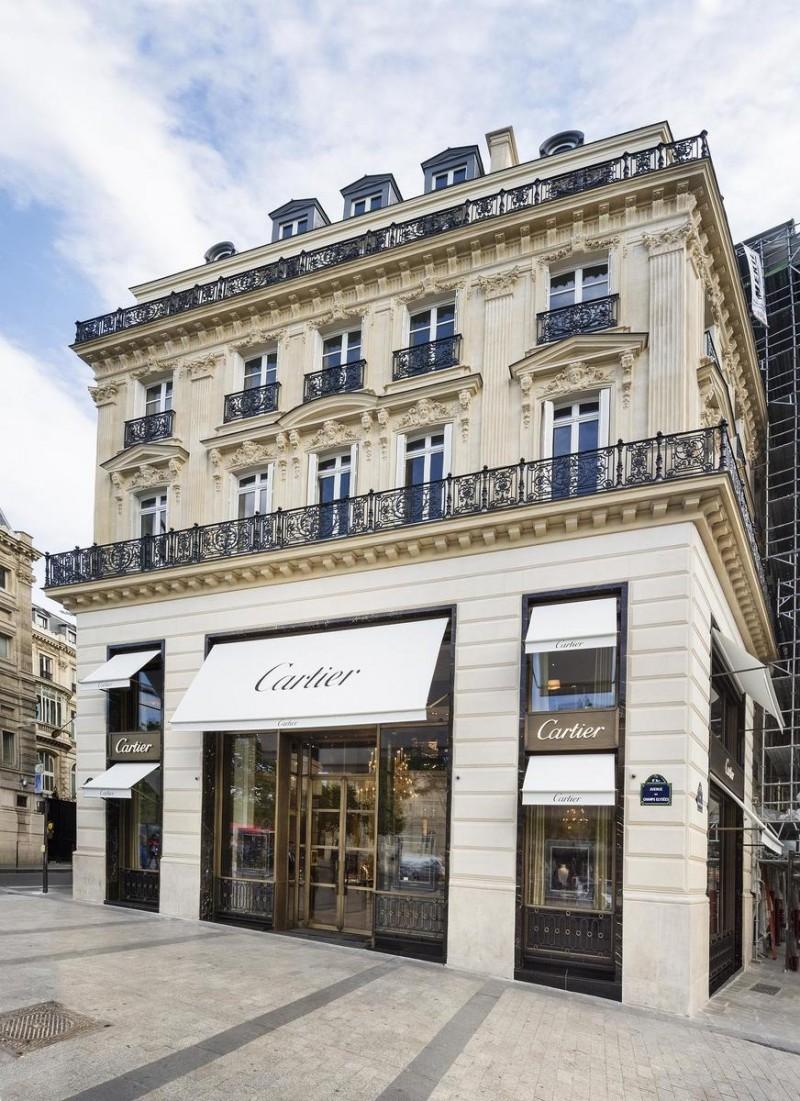 Магазин часов и ювелирных украшений - Cartier