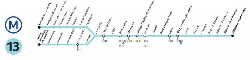 метро 13 линия