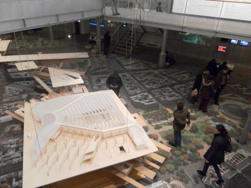 Музей градостраительства - Павильон Арсенала3