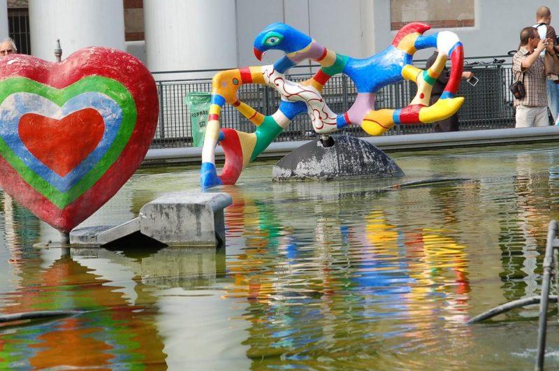 фонтан Стравинского,3