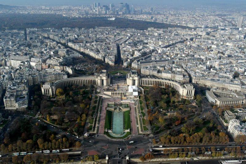 Обзорные площадки Парижа