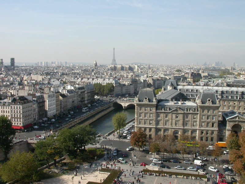 обзорные площадки в Париже