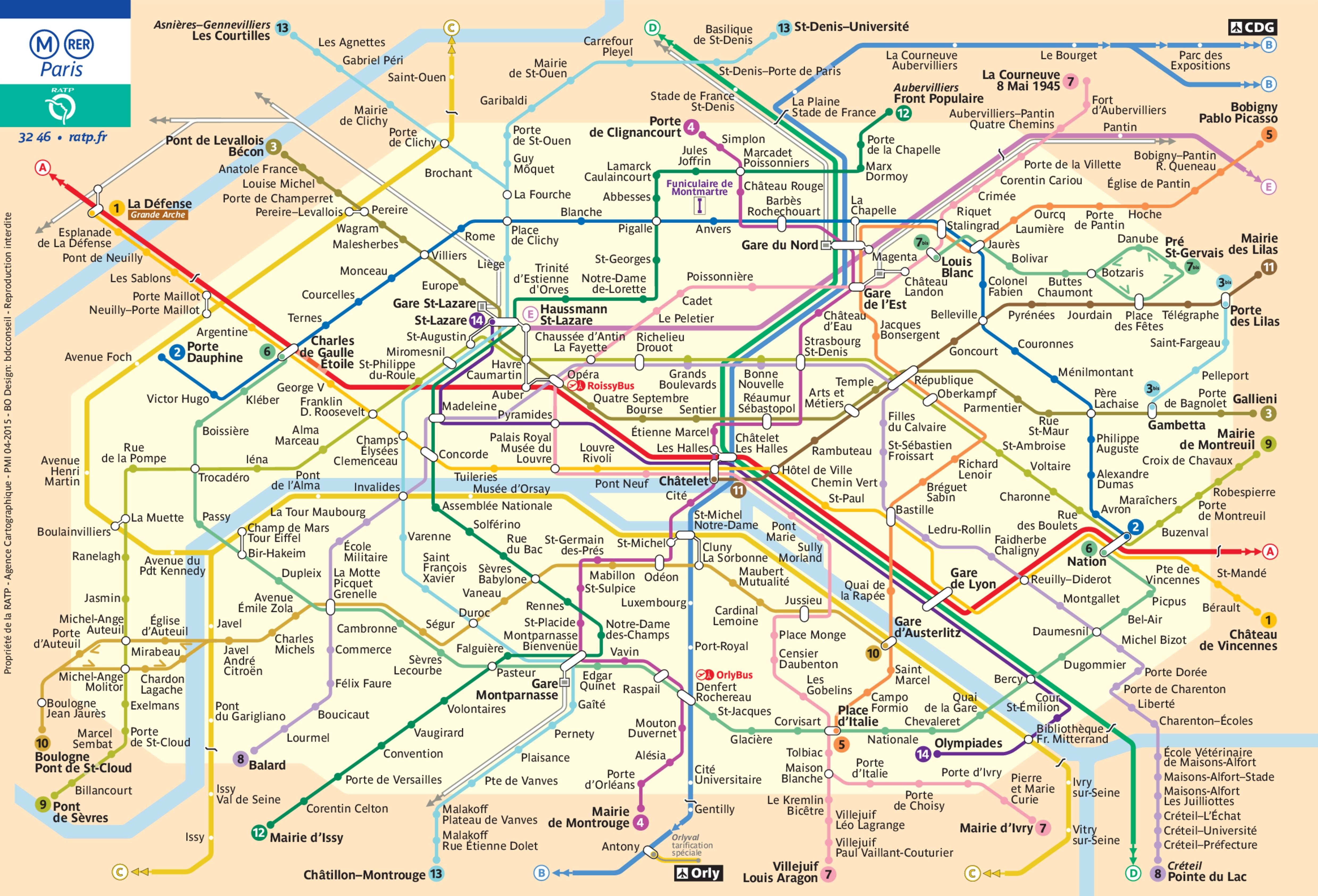 проезд в метро интерпктивная схема
