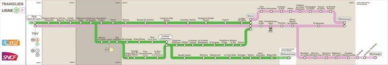 Скоростной поезд из Парижа