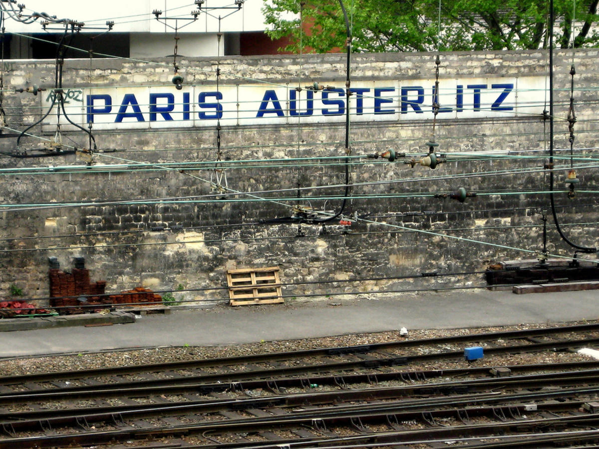 Вокзал аустерлиц схема